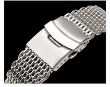 MILANESA SHARK MESH Correa Acero InoxIdable Stainless steel Band 20mm 20 mm