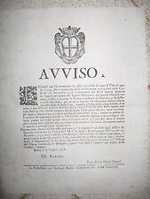 Q757-DUCATO DI PARMA- CARLO vi D'ASBURGO  1738