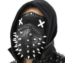 Watch Dogs 2 Dedsec Aiden Pearce Wrench Latax Mask Eyepatch Face Muffle Cosplay