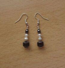 Freshwater Not Enhanced Sterling Silver Fine Earrings