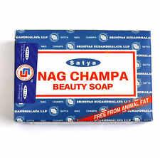 Nag Champa Beauty soap lovely lather, original scent, UK seller free postage