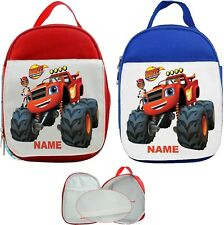 Blaze and the Monster Machines #1 Personalised Childs Lunch Bag