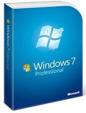 Licence Windows 7 Pro / professionnel 32/64 bit 1 Pc 100 % ORIGINAL - Clé / Clé