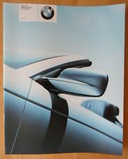 BMW 3 SERIES CONVERTIBLE orig 2000 UK Mkt Sales Brochure Prospekt - E46 323Ci