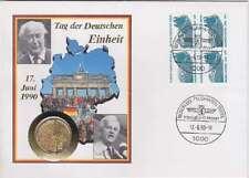 BRD Numisbrief 1 Mark / 1 Euro Tag der dt. Einheit
