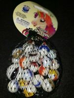 Mega marbles Net 24 plus 1 Collectors Series Aurora Unicorn swirl