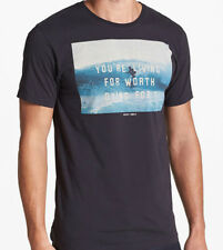 Insight Worth Living Tee (S) Dirty Boot Black 311329-7832-S