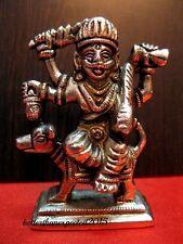 BRASS HINDU GOD Kal Bhairav Statue - Lord Kaal Bhairava RELIGIOUS EDH