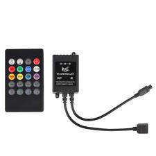 Infrared Music Controller 20keys IR Dimmer Remote for 12V 5M RGB LED Strip Light