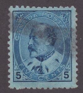 Canada 1903 #91 King Edward VII Used F/VF