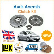For Toyota Auris Avensis Corolla Verso 2.0 2.2 LUK 3 Piece Clutch Kit New