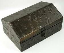 "Triple Moon Pentagram Box 4"" x 6"" Wiccan Wicca Supplies FREE SHIPPING"