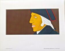 Alex Katz Portrait of George Washington Patriot 17X14 1976 Offset Lithograph