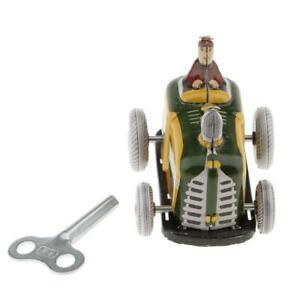 Vintage Diesel Tractor Model Wind-up Clockwork Tin Toys Collection Gifts