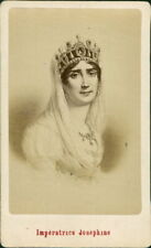 l'Imperatrice Josephine. Artistic CDV by E Neurdein   QZ.81