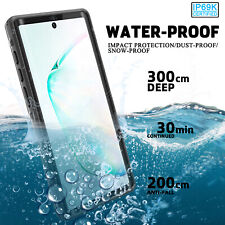 For Samsung Galaxy S20+/Note 10 Plus Waterproof Case Shockproof Full Body Cover