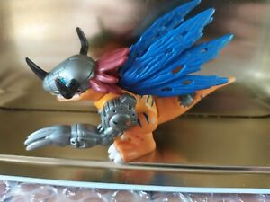 Bandai Digimon Digital Monsters Metal Greymon Mini Feature Action Figure