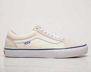 Vans Skate Old Skool Men's Off White Casual Shoes Lifestyle Athletic Sneakers