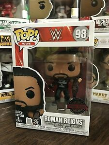 Funko Pop! WWE ROMANS REIGNS VINYL FIGURE. NMIB. #98