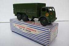 DINKY TOYS GB  FODEN 10-TON  ARMY TRUCK  REF 622    BON ÉTAT  BOITE D'ORIGINE