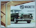 MG MAGNETTE Car Sales Brochure 1964-65 #H&E 6475