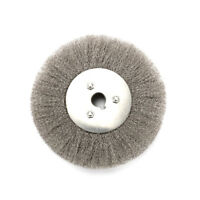 3''-10'' Crimped Stainless Steel Wire Wheel Brush Bench Grinder Abrasive New