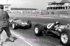 Jim Clark Lotus 21 French Grand Prix 1961 Photograph 1