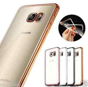 For Samsung Galaxy S7 Luxury TPU Crystal Clear Silicone Gel Back Cover Case