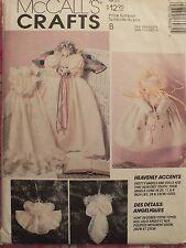 Sweet VTG 93 McCALLS 6608~Angel Dolls~Dolls & Clothes~Angel Ornaments PATTERN