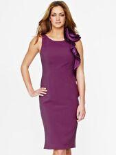 Teatro Polyester Knee Length Scoop Neck Dresses for Women