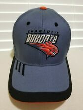 NBA Charlotte Bobcats Adidas One Size Fitted Hat NEW