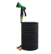Flexibler Premium Flexibler Gartenschlauch Messing Anschluss Wasserschlauch 15m