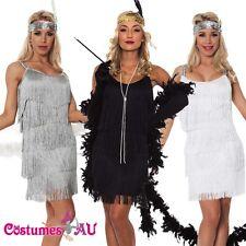 Ladies 20s 1920s Charleston Flapper Chicago Fancy Dress Costume Cigarette Holder