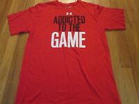 UNDER ARMOUR ADDICTED TO THE GAME PERFORMANCE SHIRT SIZE L