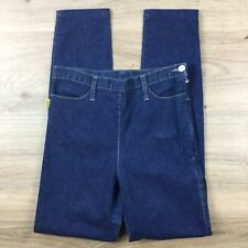 Bettina Liano Skinny High Rise Bow Pockets Size 28 Actual W26 Women's Jeans CA18
