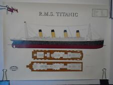 TITANIC POSTER FROM HARLAND & WOLFF MARITIME HERITAGE COLLECTION OUT OF PRINT