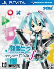 Used PS Vita Hatsune Miku: Project DIVA F SONY PLAYSTATION JAPANESE IMPORT