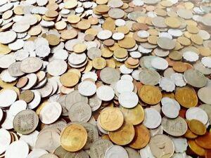 Israel Coin - LOT OF 300 Mixed Old Israeli Coins Set Sheqel Sheqalim Lira Agora