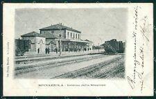 Bari Spinazzola Stazione cartolina XB3931