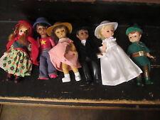 McDonalds Madame Alexander set of 6 dolls 2002