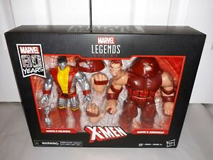 Marvel Legends X-Men 80 Years Classic Colossus Vs. Juggernaut 2-Pack NEW! RARE!