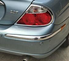 IDFR Jaguar S-Type S Type 1998~2002 Chrome bumper insert , Rear Right side