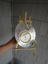 Antique French Painters Palette Barometer With Easel