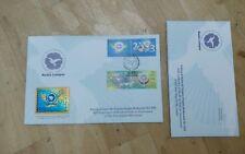 Royal Selangor Pewter Niobium Stamp FDC 2003 NAM Non-Aligned Movement