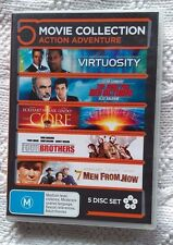 VIRTUOSITY/ THE HUNT FOR RED OCTOBER/ THE CORE / FOUR BROTHERS / 7 MEN... (DVD)