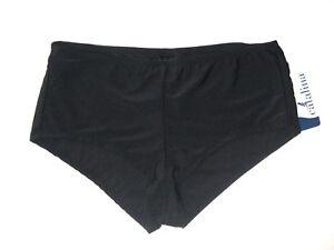 Catalina Plus Women's size 3X (22W-24W) Swim Suit Bottoms Boy Shorts Black NEW