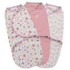 SwaddleMe Original Baby Swaddle 0-3 months 3.2-6.4kg Small/Medium-3 Pack Cotton