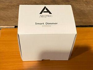 NEW - Aeotec Z-Wave Smart Energy Plug In Dimmer, White, 2nd Edition - DSC25-ZWUS