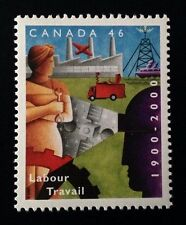 Canada #1866 MNH, Department of Labour Centennial Stamp 2000