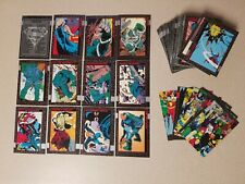 1992 Skybox The Death Of Superman DC Comics Card Set 1-90 Funeral puzzle + promo